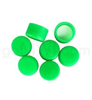 Universal Vial Lids- Green 24/bag