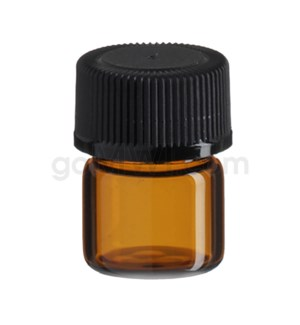 COMPONENT Vial Amber 1/3 Dram Tray