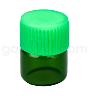 DISC Vial Green 1/3 Dram Kit