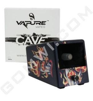 DISC Vaporizer Vapure Cave Non Digital Mushroom Flames
