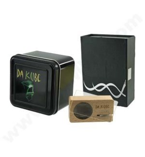 DISC Vaporizer cube DA KUBE rechargable battery powered