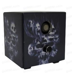 DISC Vaporizer Vapure Cube Non Digital Skull Flame IIII