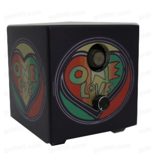 DISC Vaporizer Vapure Cube Non Digital One Love