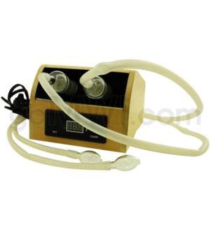 DISC Vaporizer Digital GOG Wood Double Vapor brand @