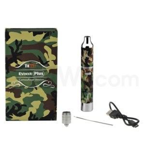 Yocan Evolve Plus 1100mah Concentrate Vaporizer Kit-Camo