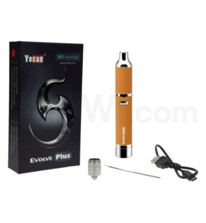 Yocan Evolve Plus 1100mah Concentrate Vaporizer Kit-Orange