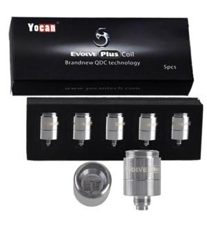 Yocan Evolve Plus Quartz Dual Coil 5pk
