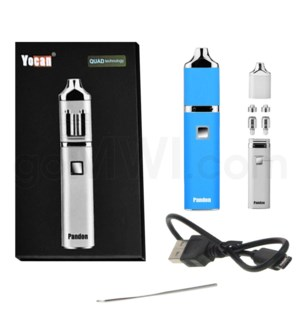 Yocan Pandon Quad 1300mah Concentrate Vaporizer Kit-Blue