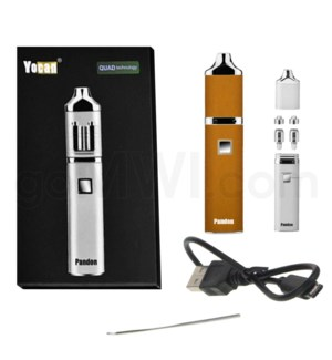 Yocan Pandon Quad 1300mah Concentrate Vaporizer Kit-Orange