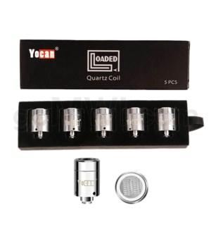 Yocan Loaded Quartz Dual Coil 5PK