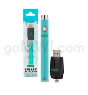 Ooze Slim Pen Twist Battery 320mah/3.3-4.8v - Teal