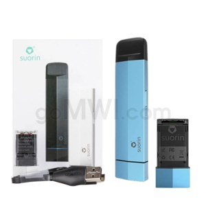 Suorin Edge 230mah 10W Vape Kit - Blue