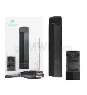 Suorin Edge 230mah 10W Vape Kit - Black