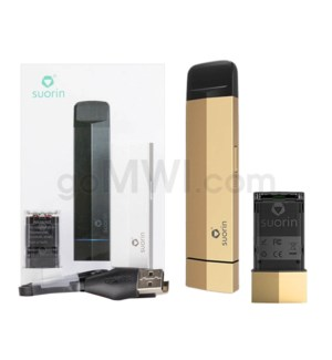 Suorin Edge 230mah 10W Vape Kit - Gold