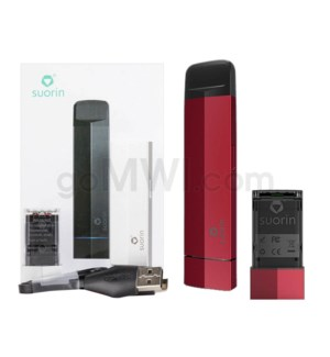 Suorin Edge 230mah 10W Vape Kit - Red