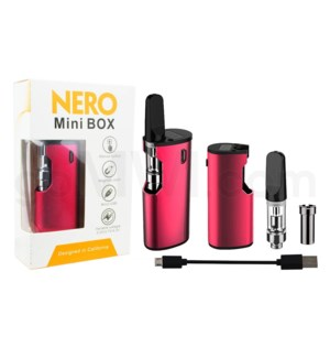 Nero Mini 650mAh Oil Vaporizer Kit-Red