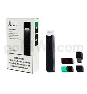 Juul Pod Starter Device Kit  2 Pods / 4 IN CS