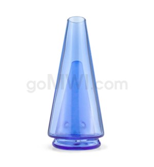 Puffco Peak Replacement Glass Attachment - Royal Blue