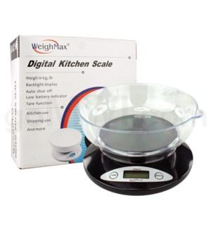 WeighMax 2810-2 2kg x 4.4 lbs Kitchen Scales