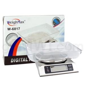 WeighMax 6817 6Kg x 13 lbs Kitchen Scales