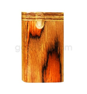 "Wood Box 3"" Plain Multi Brown No Grip W/O Bat"
