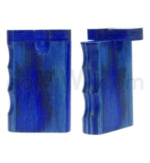 """Wood Box 3"""" Single Grip Blue W/O Bat"""