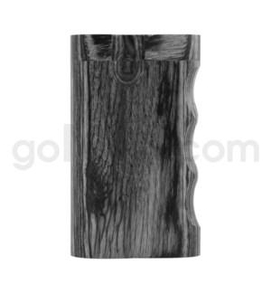 """Wood Box 3"""" Single Grip Black W/O Bat"""