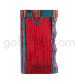 """Wood Box 3""""  Single Grip Multicolor (TD3) W/O Bat"""