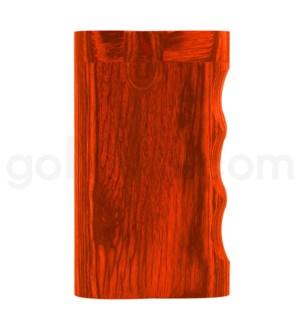 "Wood Box 3"" Single Grip Orange W/O Bat"