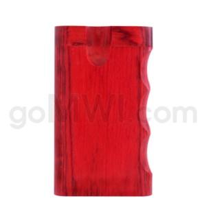 """Wood Box 3"""" Single Grip Red W/O Bat"""