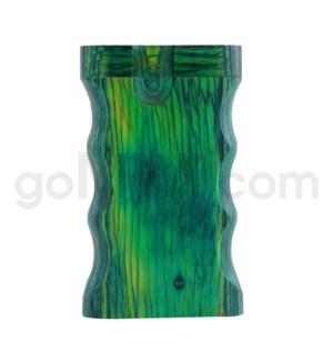 "Wood Box 3"" Double Grip Green W/O Bat"