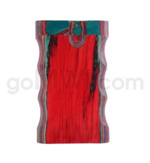 "Wood Box 3"" Double Grip Multicolor W/O Bat"