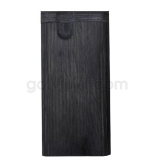 "Wood Box 4"" No Grip Blue W/O Bat - Black"