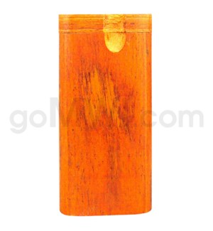 "Wood Box 4"" Orange W/O Bat"