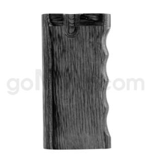 """Wood Box 4"""" Single Grip Black W/O Bat"""