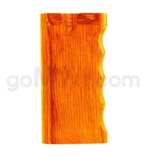"Wood Box 4"" Single Grip Orange W/O Bat"