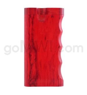 """Wood Box 4"""" Single Grip RED W/O Bat"""