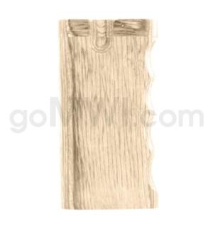 """Wood Box 4"""" Single Grip Wood W/O Bat"""