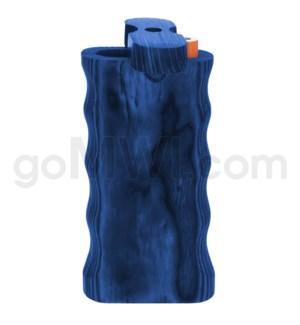 """Wood Box 4"""" Double Grip Blue W/O Bat"""