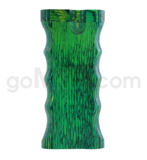 "Wood Box 4"" Double Grip Green W/O Bat"