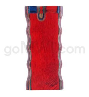 "Wood Box 4"" Double Grip Mulitcolor W/O Bat"