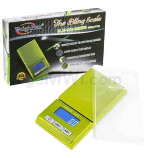 WeighMax BLG-100 100g100g x 0.01g Bling Scales-Green