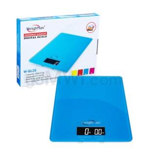 WeighMax GL-25 11kg x 25 lbs Kitchen Scales- Blue