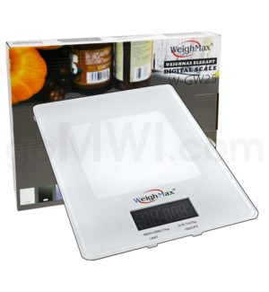 WeighMax GB25 11.3kg x 25 lbs Shipping Scale - White