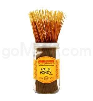 Wildberry Incense Wild Honey 100/ct