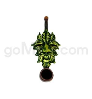 """3"""" Mini Ecuadorian Polyresin Pipe - Father Spring"""