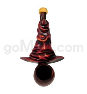 "4.5"" Small Ecuadorian Polyresin Pipe - Merlin's Hat"