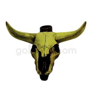 "5"" Ecuadorian Polyresin Pipe - Longhorn"