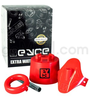 DISC EYCE Xtra Pipe Kit 4x4x4in Silicone Red