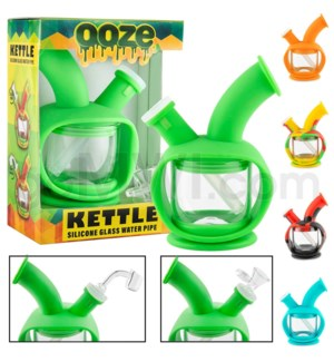 "Ooze Silicone 7"" Kettle - Assorted Colors"